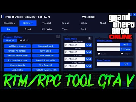 BEST TOOL PROJECT DESIRE RECOVERY 1.28 GTA 5 ONLINE