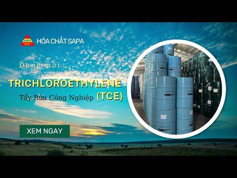 Dung Môi Trichloroethylene (TCE) | Hóa Chất SAPA