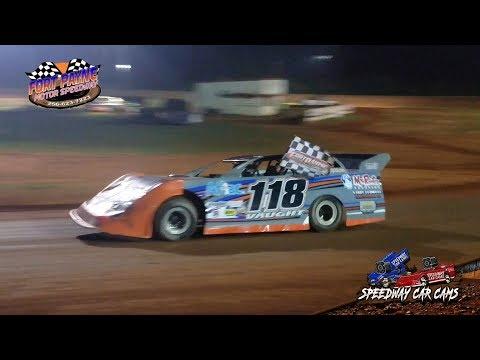 Winner - #118 Dee Vaught - Crate - 8-11-18 Fort Payne Motor Speedway - In Car Camera