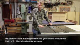 Table Saw Mobile Base, Festool Multi-function Table •  Woodworking Shop Tour (1 Of 5)