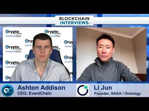 Li Jun, Founder of SAGA Protocol & Ontology | Blockchain Interviews