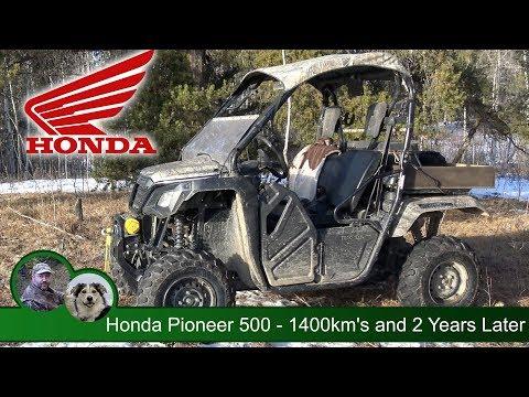 Honda Pioneer 500 - 1400 km's and 2 Years Later