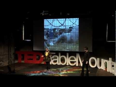 Urban Acupuncture: Michele Twomey and Gerry Gordon at TEDxTableMountain