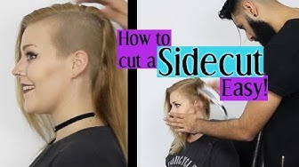 HOW TO CUT A SIDE CUT (REAL EASY)
