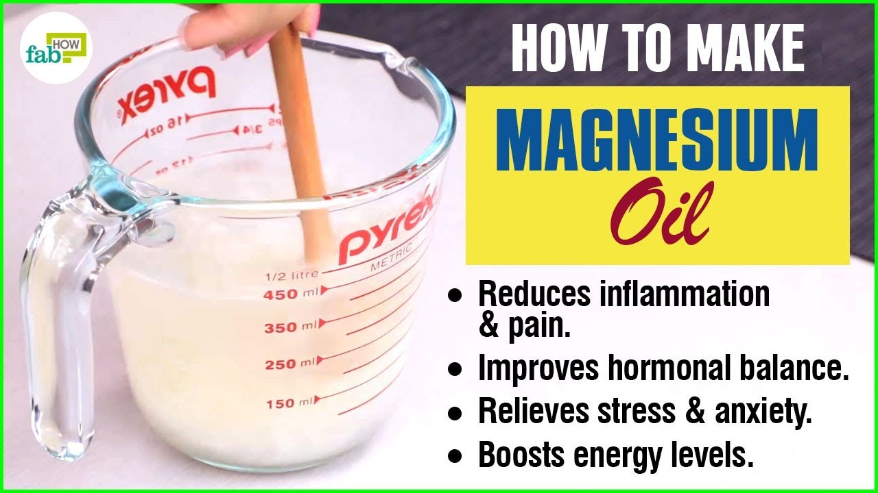 How to Make Magnesium Oil Spray: Filled with So Many Benefits