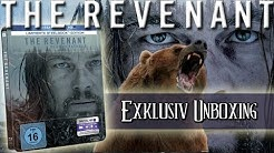 The Revenant - Limited Steelbook Edition Blu-ray unboxing