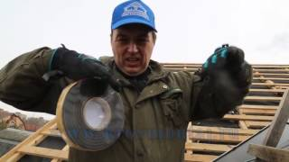 видео Кровельный инструмент и оборудование: правильная технология работ