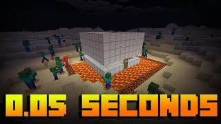 INSTANT Safe House with Command Blocks - Minecraft PE 1.5.3+