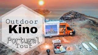 Transporter wird zum Wohnmobil - Portugal Tour | Yvonne Pferrer