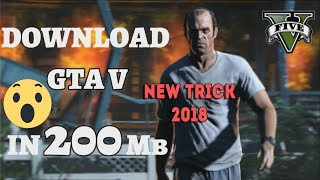🔥200MB🔥Grand Theft Auto V PC Highly Compressed| FULL VERSION | 2018