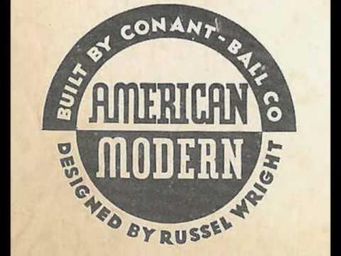 Russel Wright   American Modern Furniture   YouTube