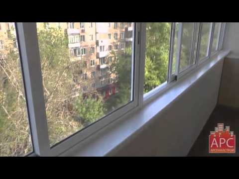 Пример комплексного ремонта шестиметрового балкона под ключ .