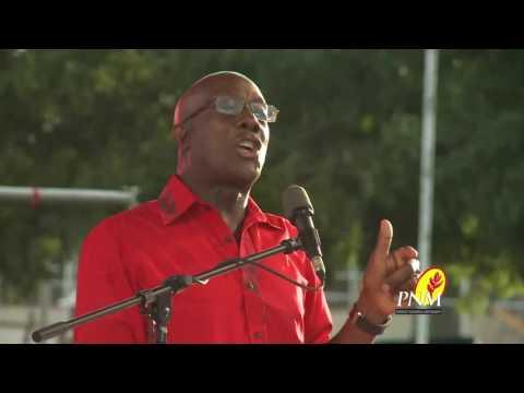 PNM Big Rally Dr  Rowley Speech Part 2
