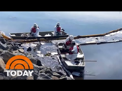 California Oil Spill Threatens More Beaches And Wildlife
