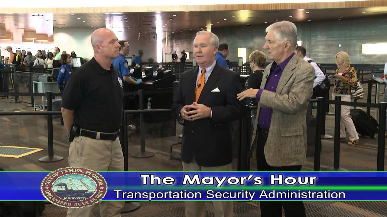 the mayors hour transportation security administration tsa youtube