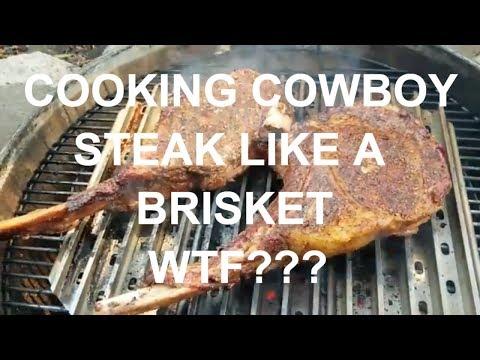 BBQ Cowboy Steak Like Brisket WTF ??? How-To by Grand Champion Harry Soo SlapYoDaddyBBQ.com
