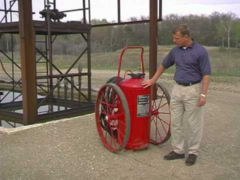 Dry Chem Wheel Unit - How to use a fire extinguisher trainin
