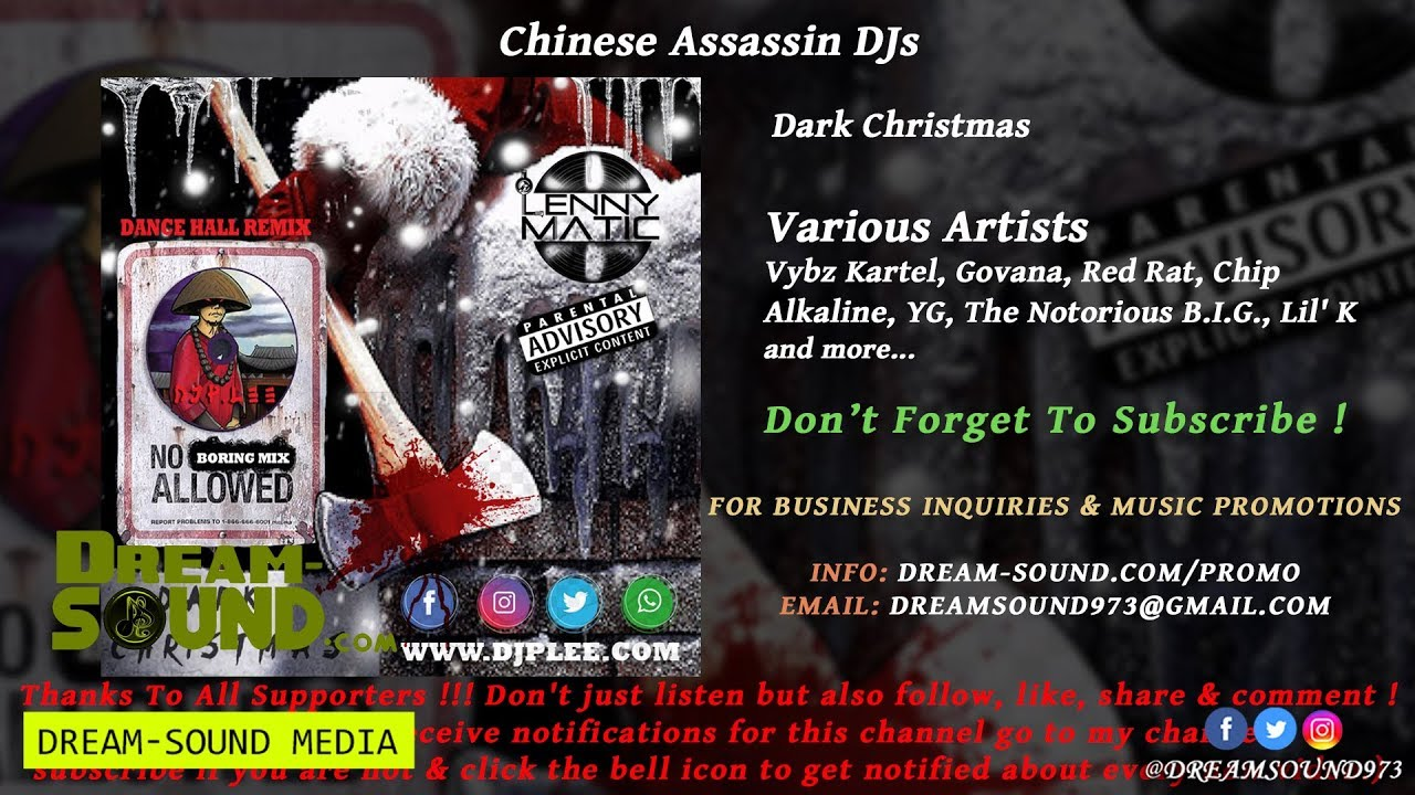 Dancehall Hiphop Mixtapes: Dark Christmas (Dancehall & Hip-Hop