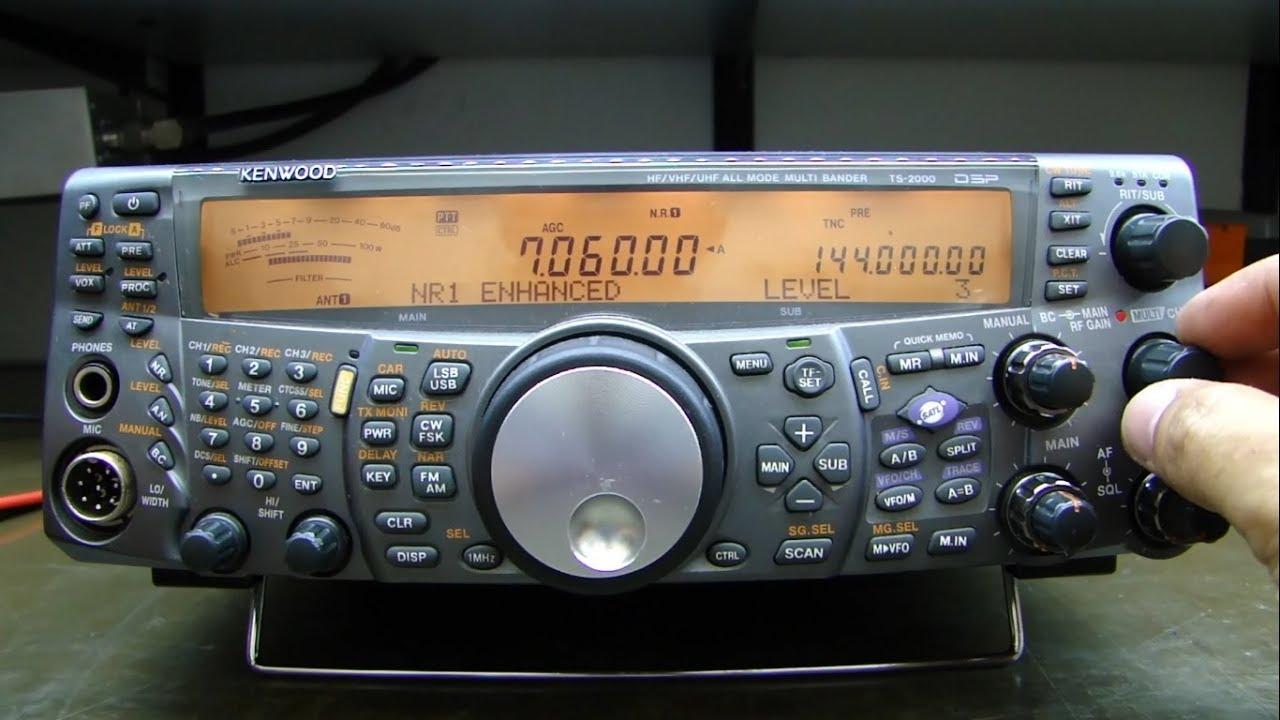 ALPHA TELECOM: SUPER REVISÃO KENWOOD TS-2000 PY5MM