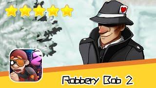 Robbery Bob 2 Pilfer Peak 13 Walkthrough Secret Agent Suit Recommend index five stars
