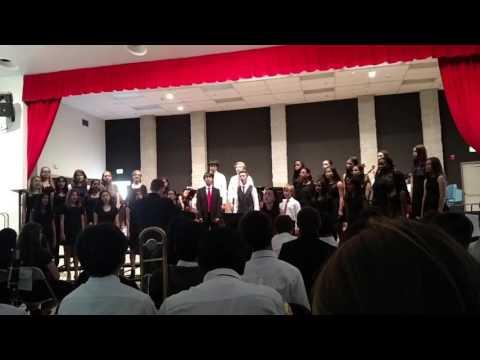 Pleasanton Middle School Choir performs Summertime