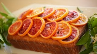 Beth's Blood Orange Pound Cake Recipe | ENTERTAINING WITH BETH