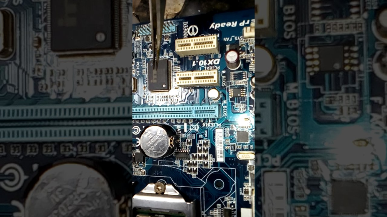 HOW TO SOLVED NO DISPLAY MOTHERBOARD GIGABYTE GA-H61M-S1 ?