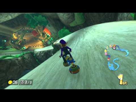 Mario Kart 8 - Wild Woods - 150cc Crossing Cup - No Commentary
