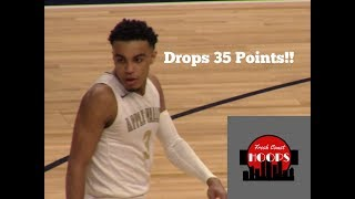 Tre Jones State Tournament Highlights! Drops 35 Points In Last Game!