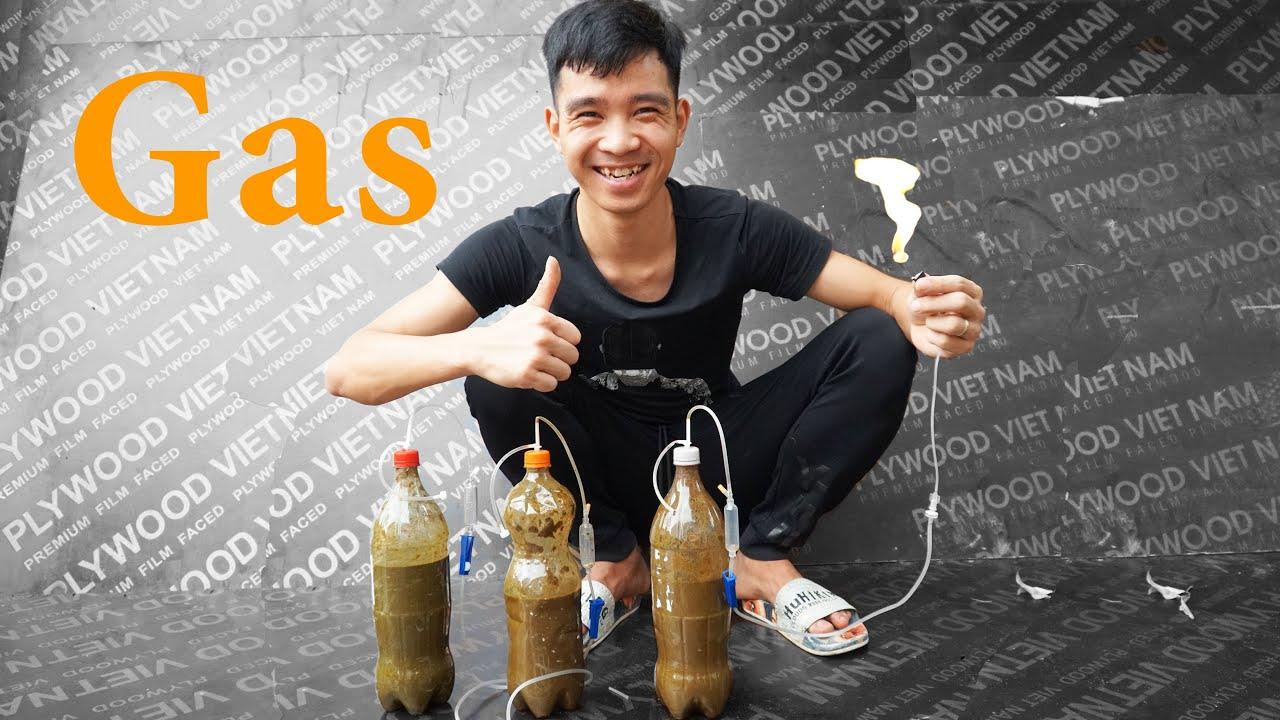 Cách Tạo Ra Khí Gas Tại Nhà | How To Make Gas | PHD Troll