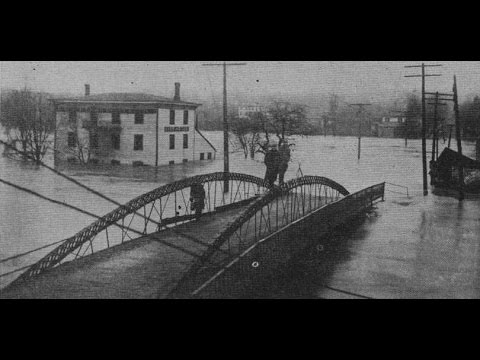 Canal Fulton in the 1913 Flood