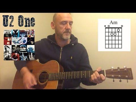 U2 - One - Guitar lesson by Joe Murphy