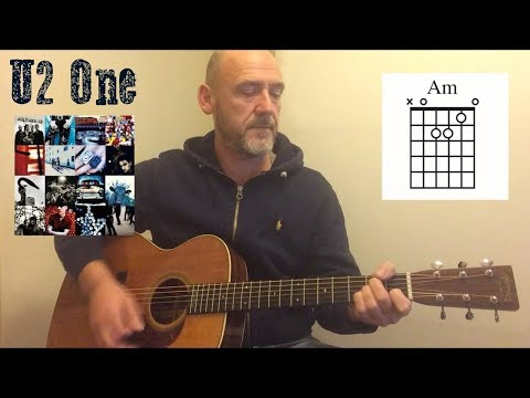 U2 - One - Guitar lesson by Joe Murphy