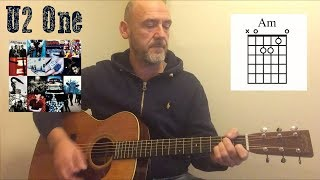 Download lagu U2 - One - Guitar lesson by Joe Murphy