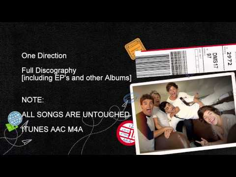 One Direction Full Discography [iTunes Plus AAC M4A]