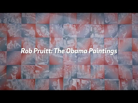 Rob Pruitt: The Obama Paintings