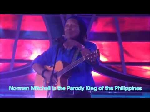 Norman Mitchell Stand up Comedian  Parody Comey King sings Macarena in Manila Philippines
