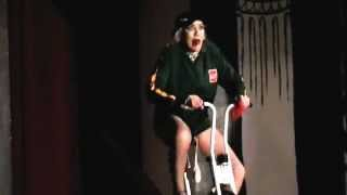 Hilarious Wanda Queen Of The little Desert as Barney Big Balls -The Push Bike Song By The Mixtures