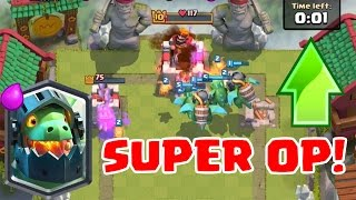 INFERNO DRAGON + BABY DRAGON COMBO IS OP | Clash Royale