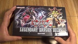 Legendary Dragon Decks unboxing.