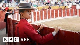 Spain's elite female bullfighter - BBC REEL