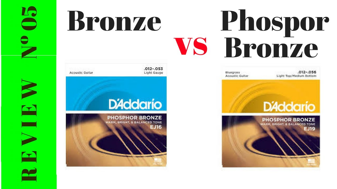 Phosphor Bronze Strings : bronze vs phosphor bronze strings youtube ~ Hamham.info Haus und Dekorationen