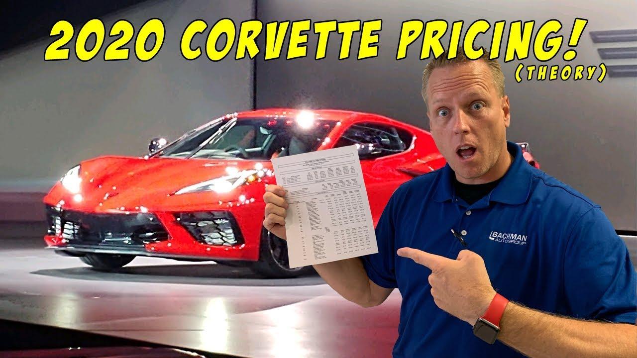 2020 Corvette Pricing EXPLAINED c8 mid engine corvette ...