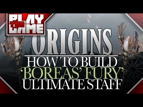 ORIGINS | How To Build 'BOREAS' FURY' Wind Staff Upgrade! (Black Ops 2 Zombies)