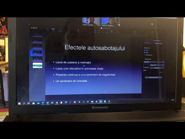 Efectele autosabotajului - cu Nicușor Tănăsescu