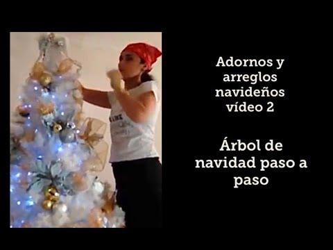 Cómo decorar el árbol de navidad estilo Nórdico / Tendencias 2017 y 2018