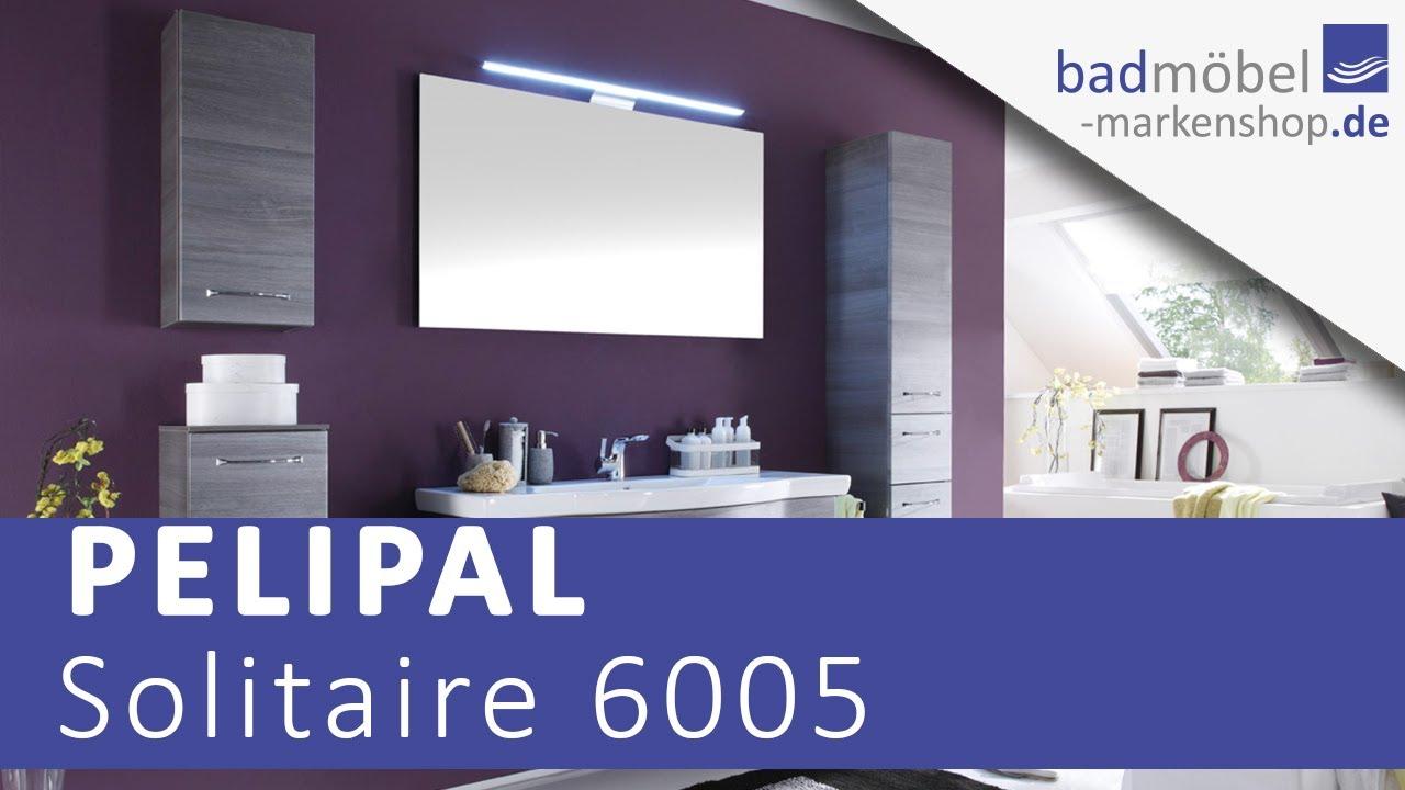 Pelipal Solitaire 6005 Badmöbel - YouTube
