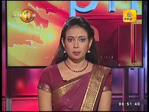 News 1st Prime time Sunrise Shakthi TV 6 45 AM 24th March 2017
