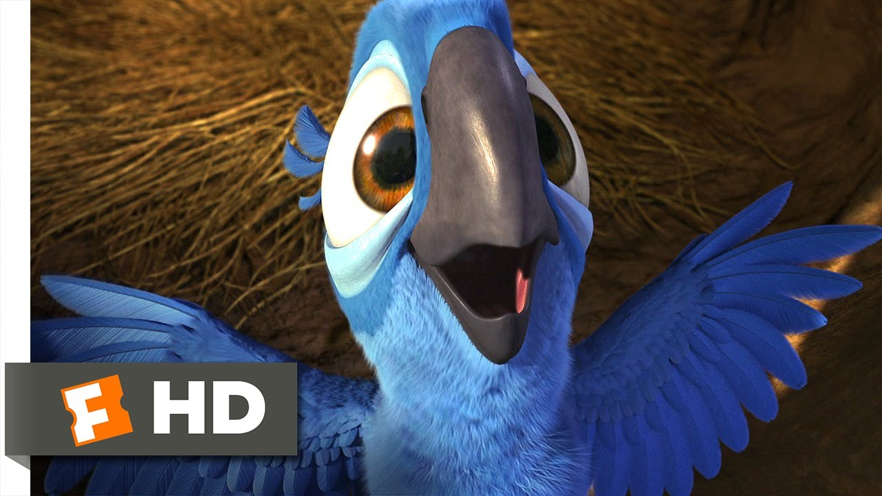 Rio (1/5) Movie CLIP – Real in Rio (2011) HD