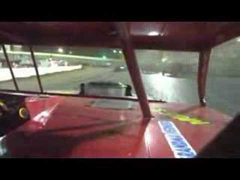 I-55 Raceway Modified Feature Event In-Car Footage 6-7-2008